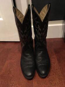Cowboy Boots, Size 9
