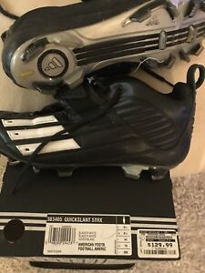 Adidas - quickslant football cleats - size 10