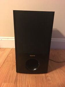 """Sony 8"""" subwoofer"""