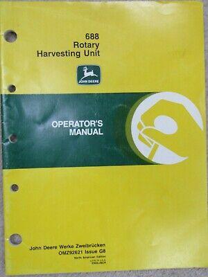 John Deere 51 Unit Planter Operator/'s Manual WPNH