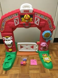 Portique, porte de Ferme fisher price