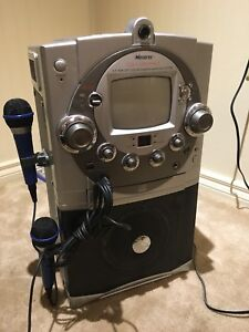 Karaoke Machine with Dual Microphones