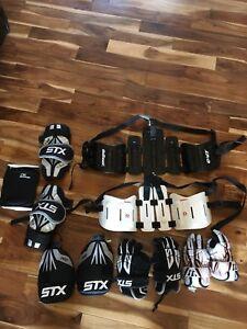 Lacrosse gear.