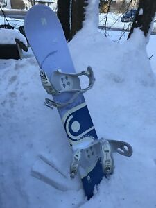 Anthem Snowboard 156 cm with bindings excellent condition