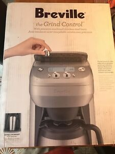 Breville Grind Control Coffee Maker - Brand New