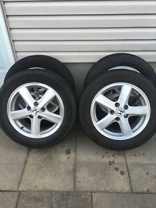 4 toyo summer tires with mag 205/60/16 (5x114.3)