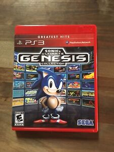 PS3 Sonic ultimate genesis collection