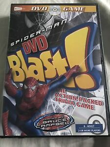 Spider-Man trivia DVD game