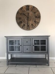 Wood Console Table/Buffet
