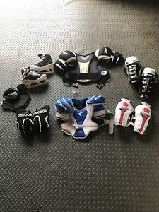 Boys/junior hockey equipment