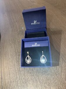 Crystal crystal earrings mint condition! In brand new condition