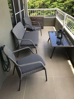 Brancott outdoor 4 piece setting