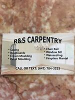 R & S Carpentry ( CHEAP. PROFESSIONAL. RELIABLE)