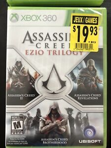 New Assassins Creed Ezio Trilogy