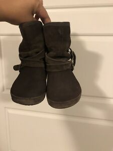 Crocs size 11 boots for girls