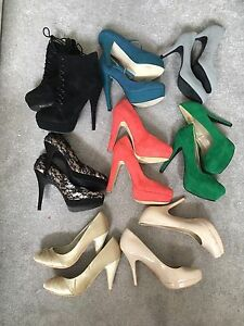 Assortment of shoes
