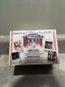 1991-92 Upper Deck Jumbo Hockey Cards