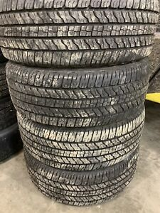 Goodyear Fortitude HT 265/60r18 less than 100km