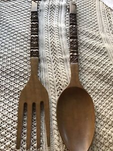 HUGE Fork and Spoon
