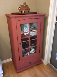 Kitchen cabinet storage hutch