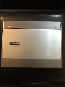 JL Audio Subwoofer and Clarion 650 Watt mono amp
