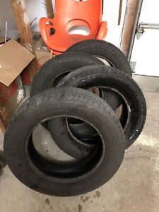 Set of 4 Bridgestone Firestone Tires 215 / 60R16