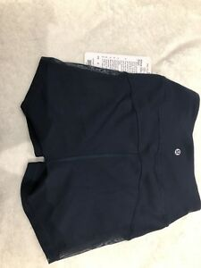 Lululemon adore your core shorts.  Size 4. NEW WITH TAGS