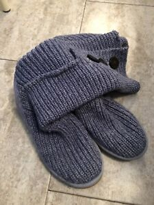 Genuine Ugg knitted boots