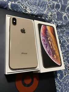 iPhone XS rose gold 64gb mint condition