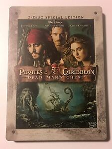 Pirates of the Caribbean Dead Man's Chest Steel Book - Case Only