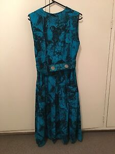 80's vintage dress - floral Brighton East Bayside Area Preview