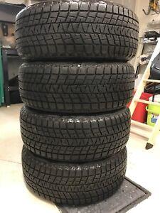 4 pneus d'hiver Bridgestone Blizzak P245/55R19