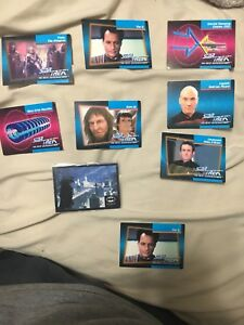 Star Trek collectors cards from 1992