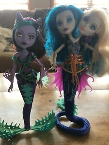Mermaid Monster High Dolls Lot 2
