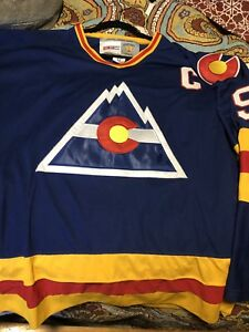 Lanny McDonald Colorado Rockies Jersey