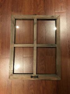 Wood + Glass Picture Frames (x2)