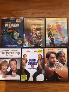 24 Assorted DVDs for sale!!