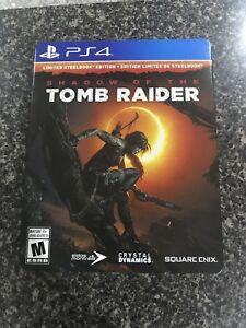 Shadow of the tomb raider limited steelbook edtion ps4