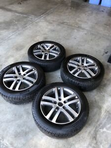 VW TIRES AND RIMS