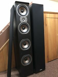 POLK AUDIO TSi500 (Black Pair)