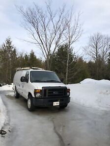 2008 Ford E250 Xl Low KM