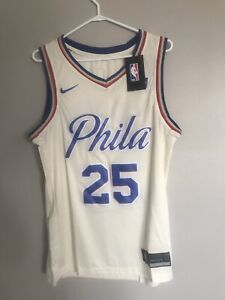 "Ben Simmons ""crime white ""jersey 2019"