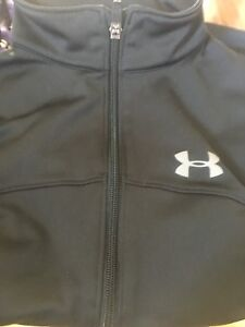 Boys zip front Under Armour sweater for sale!