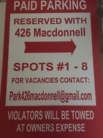 Parking Available 20 min from Queens Campus