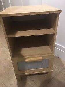 2 tied shelf with drawer