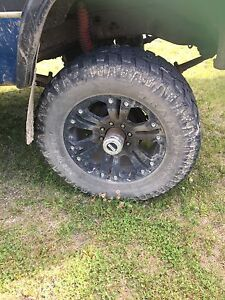 20 inch monsters with 325 rubber