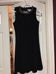 Michael Kors peplum black dress