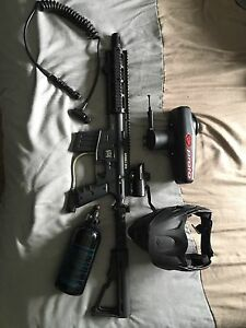 SERRIA ONE paint ball gun