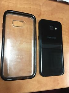 New unlocked samsung galaxy A8 w/charger &phone case 32 GB