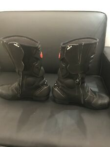 Brand new motorcycle riding boots